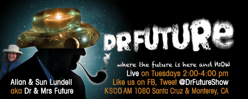 Dr. Bruce on the Dr. Future Show on KSCO Santa Cruz