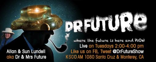 Dr. Bruce on the Dr. Future Show on KSCO Santa Cruz